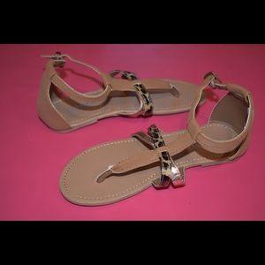 Cheetah Flip Flop Sandals | Kids' Shoes | Girls